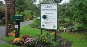 Mercer Educational Gardens is an award-winning garden that features seven display gardens that all adhere to principles of responsible gardening and pest management.