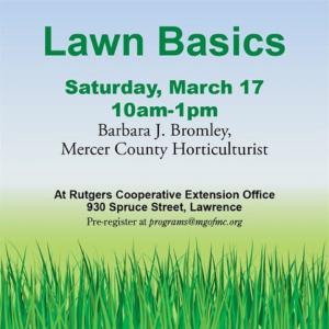 Lawn Basics 2018 March 17
